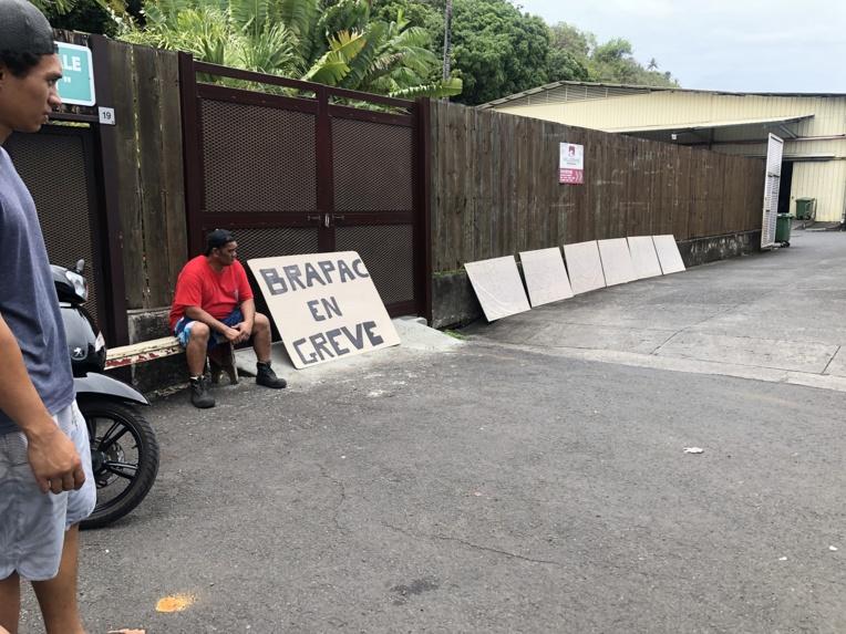 Fin de la grève à la Brapac