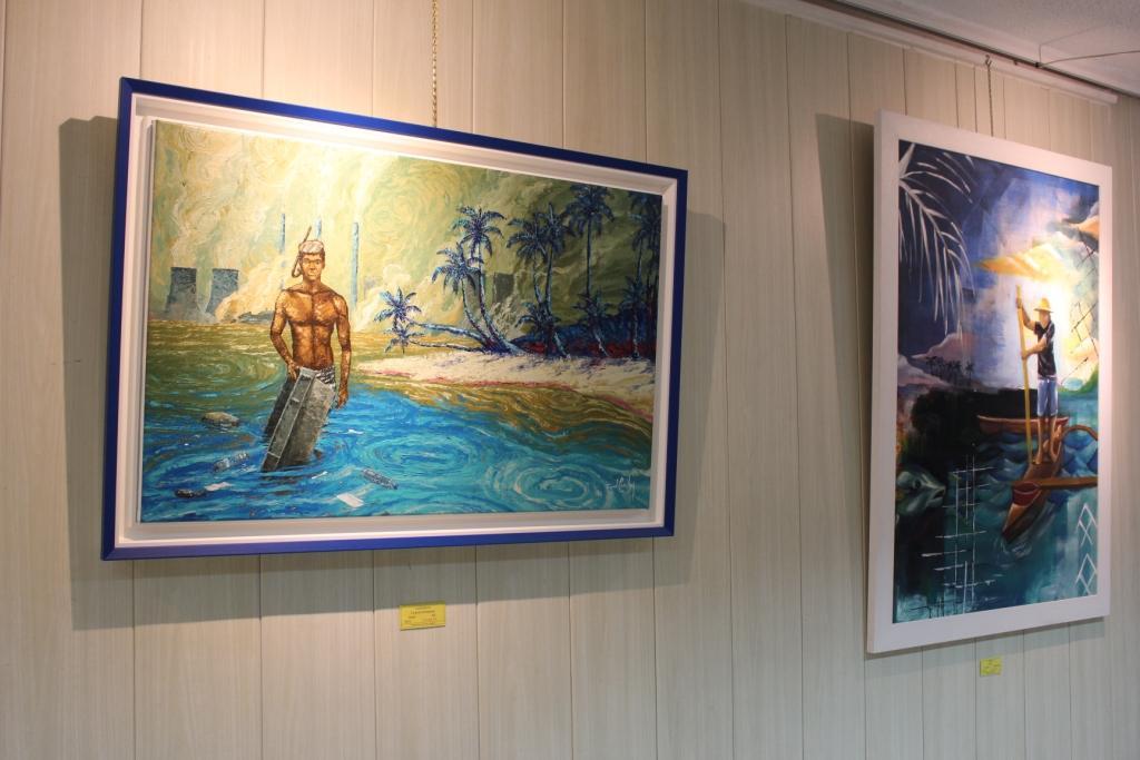 Au Chevalet réunit des artistes autour de l'environnement