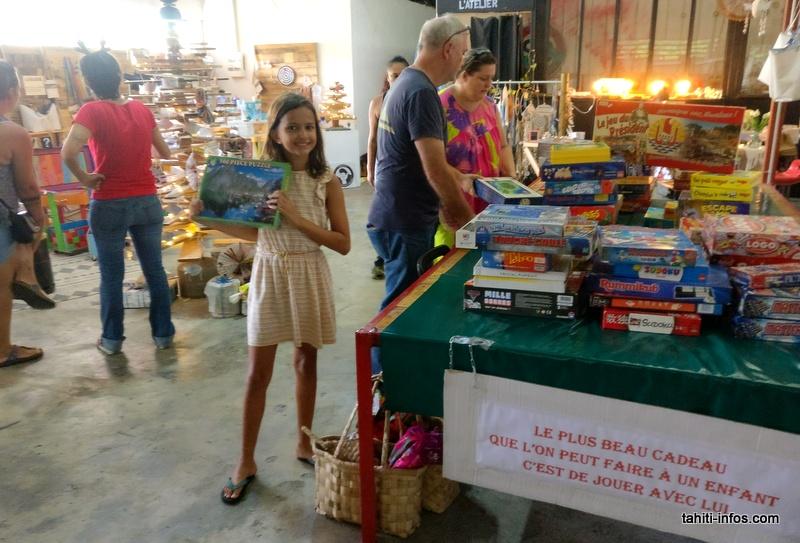 Des jeux de société recyclés, un cadeau très apprécié par les enfants