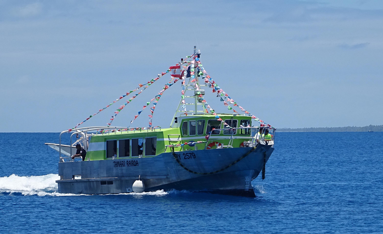 Le carburant des navires communaux intégré au FRPH
