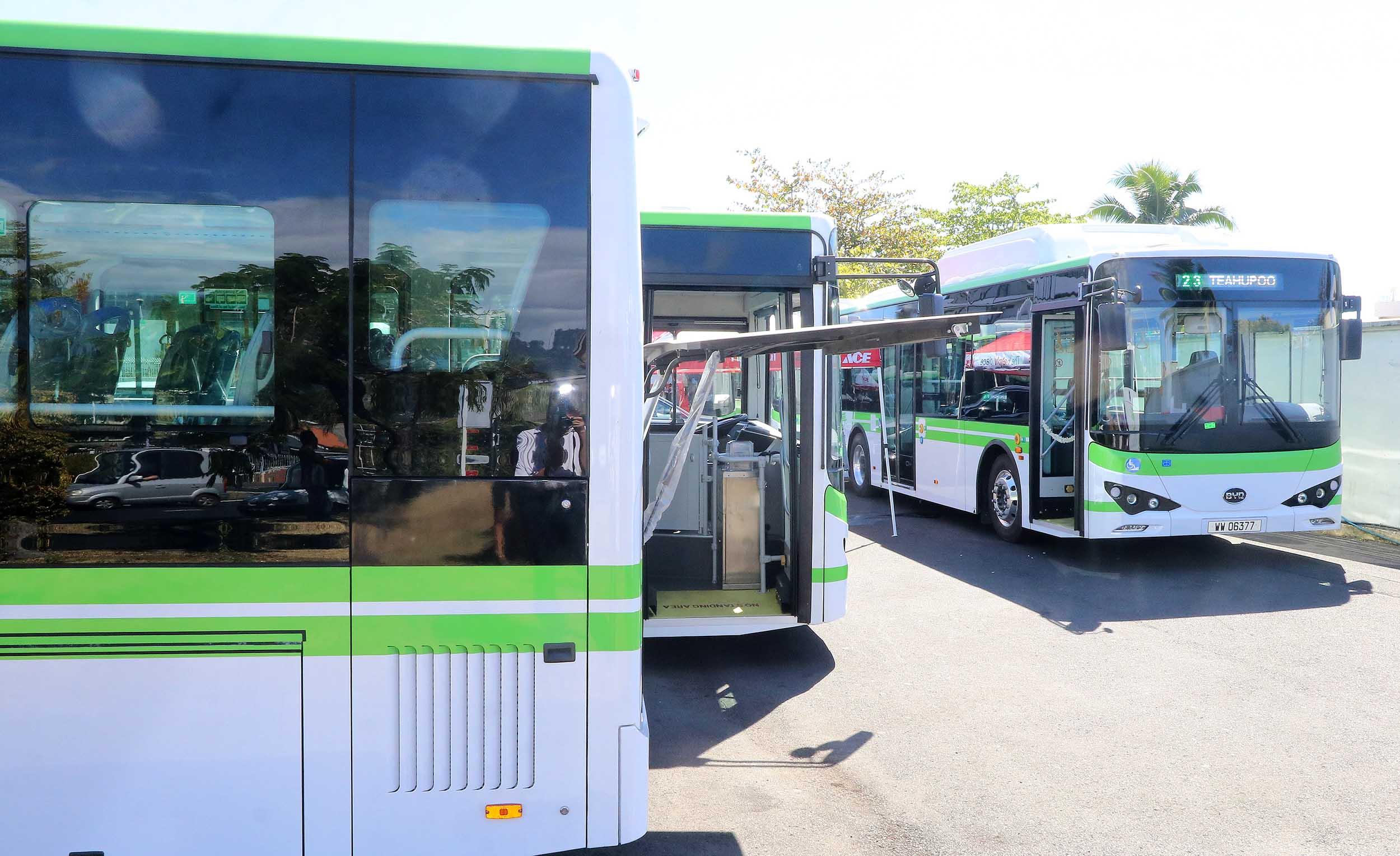 La défisc' nationale accordée pour 63 autobus