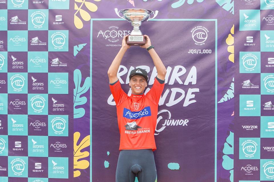 Un deuxième titre de champion d'Europe pour Kauli Vaast
