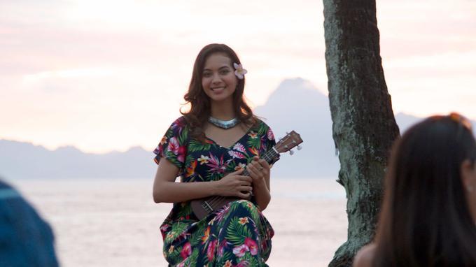 Vaimalama dans Meutres à Tahiti (crédit Cyrill Georgin)