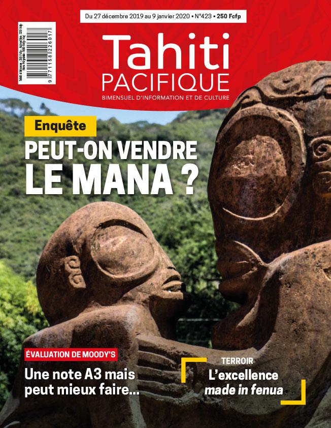 À la Une de Tahiti Pacifique vendredi 27 décembre