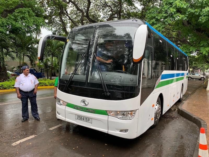 Bus de Nui pour Tahiti Iti