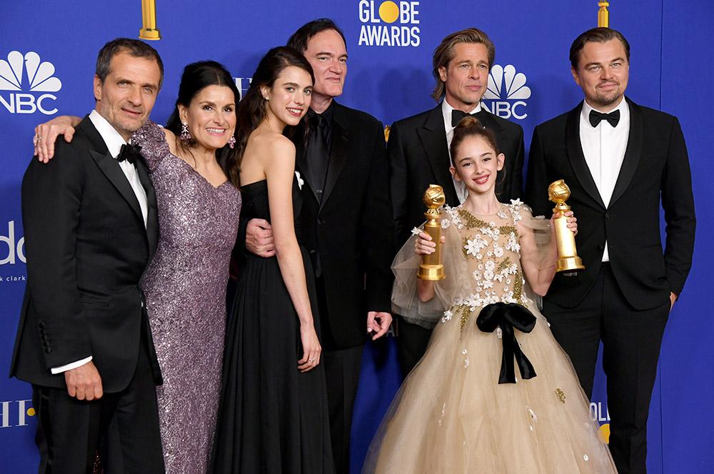"Quentin Tarantino et ""1917"" grands vainqueurs aux Golden Globes"
