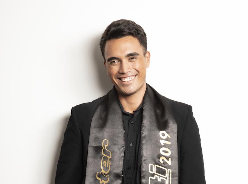 Tehau Matikaua s'envole pour Mister France
