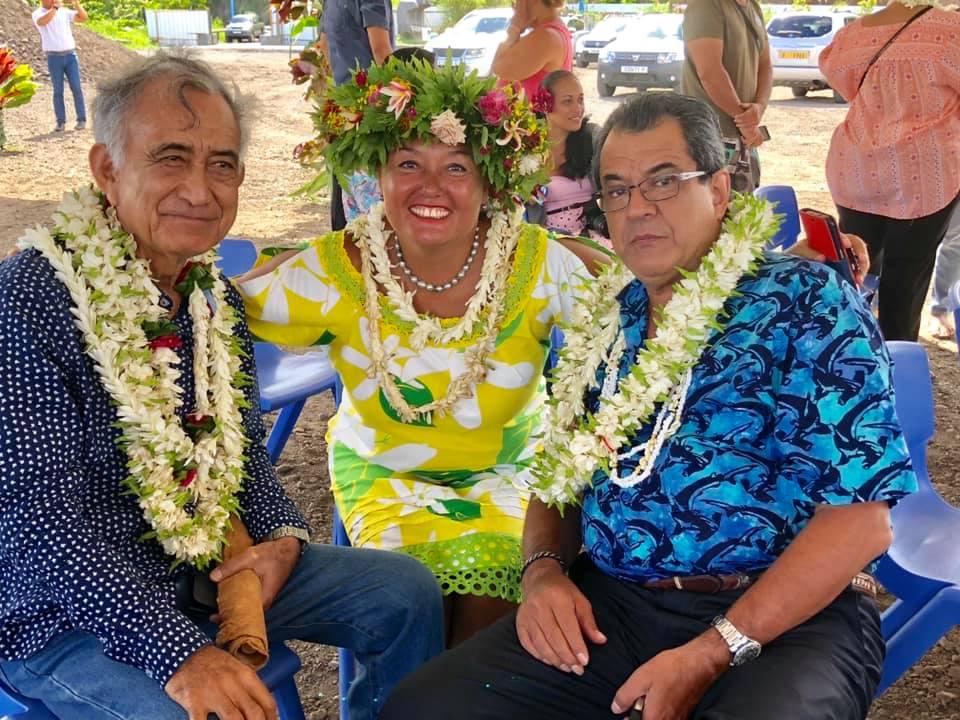 Teura Tarahu, deuxième candidate Tapura à Faa'a