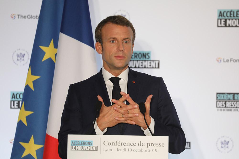 Macron sur le gril face aux citoyens de la Convention sur le climat