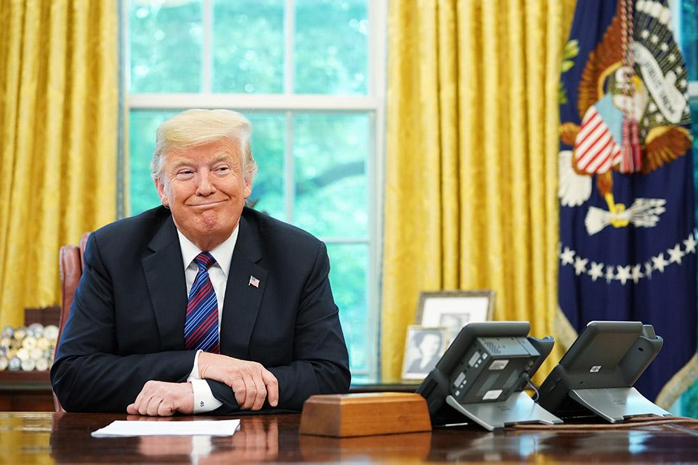 Trump mal-aimé dans le monde mais l'Amérique garde une bonne image