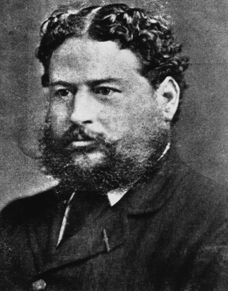 Portrait de Franck (Francis) Jardine, dans la décennie 1880-1890. Il était devenu un respectable notable dans sa région et, en prime, il découvrit un trésor qui le rendit riche !
