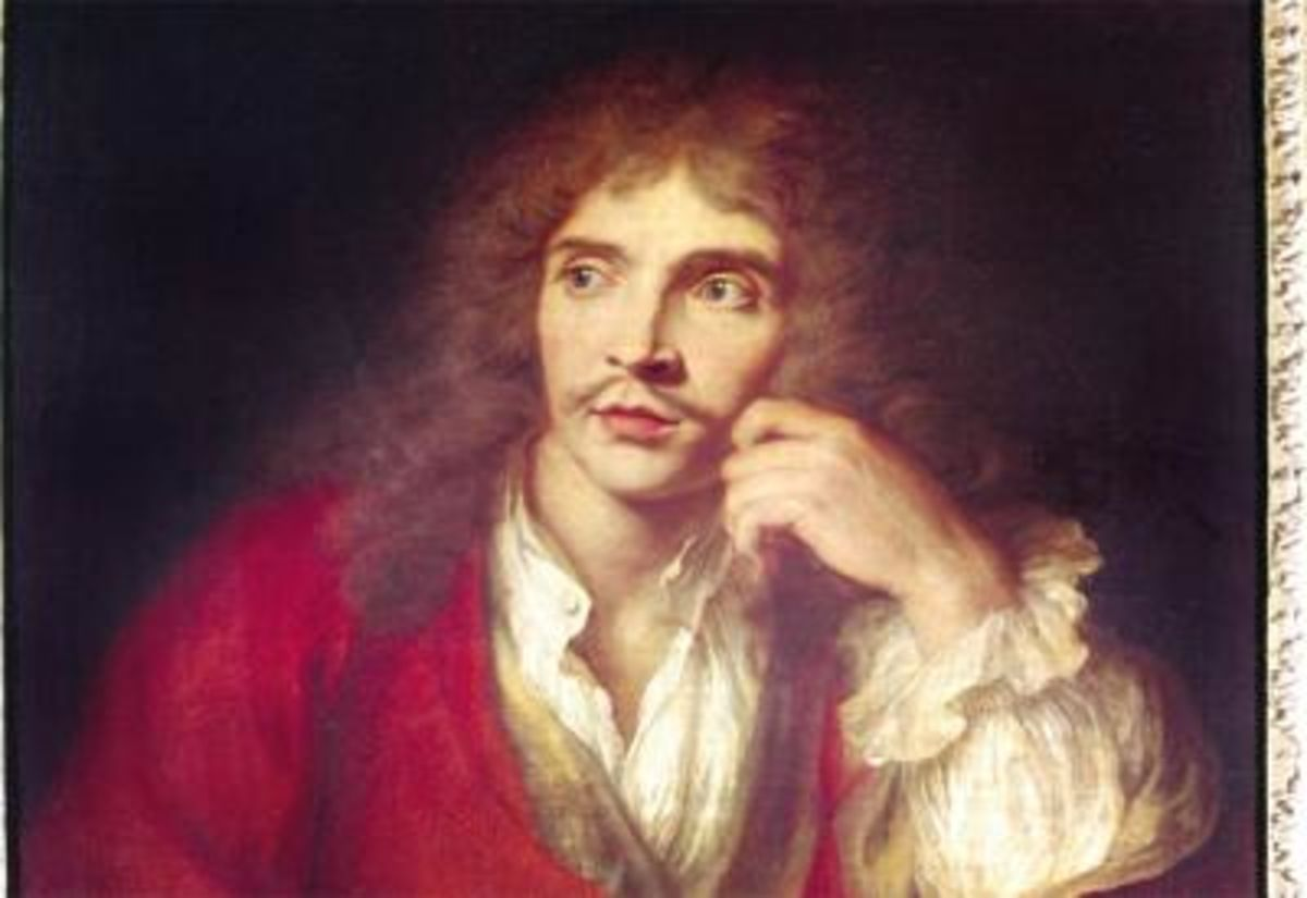 Jean-Baptiste Poquelin, dit Molière, est un comédien et dramaturge français, baptisé le 15 janvier 1622 à Paris, où il est mort le 17 février 1673.