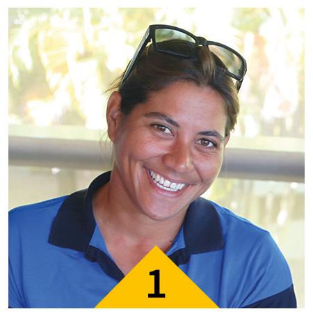 Challenger #1 : Hinatea Bernadino