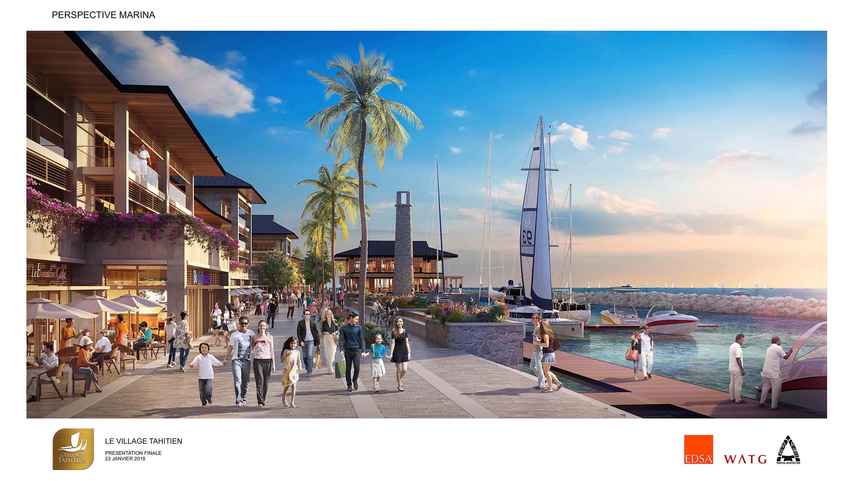 Village Tahitien : Cinq investisseurs locaux se positionnent