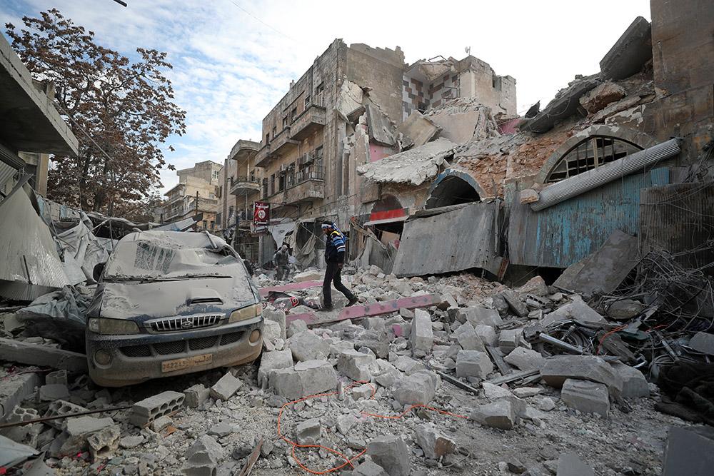 En Syrie, des dizaines de morts après la reprise de l'offensive du régime à Idleb