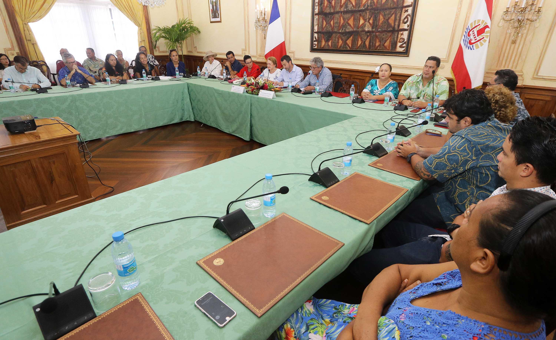 crédit Présidence de la Polynésie