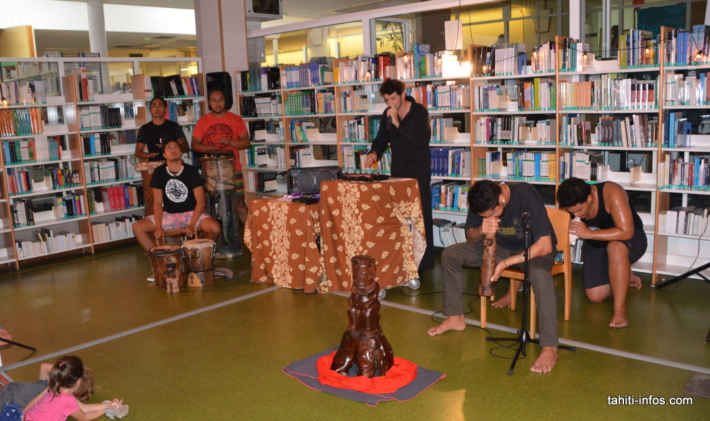 Le groupe Kakaia a testé la fusion des rythmes marquisiens avec d'autres formes d'art
