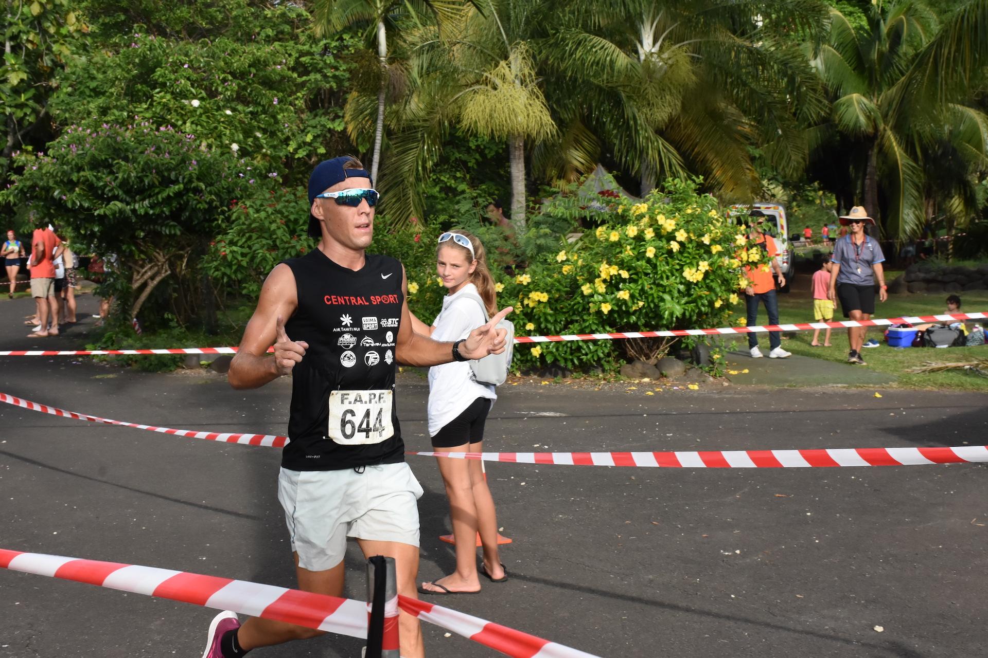 Benjamin Zorgnotti a placé une accélération lors du deuxième tour qui a été fatale à ses concurrents.