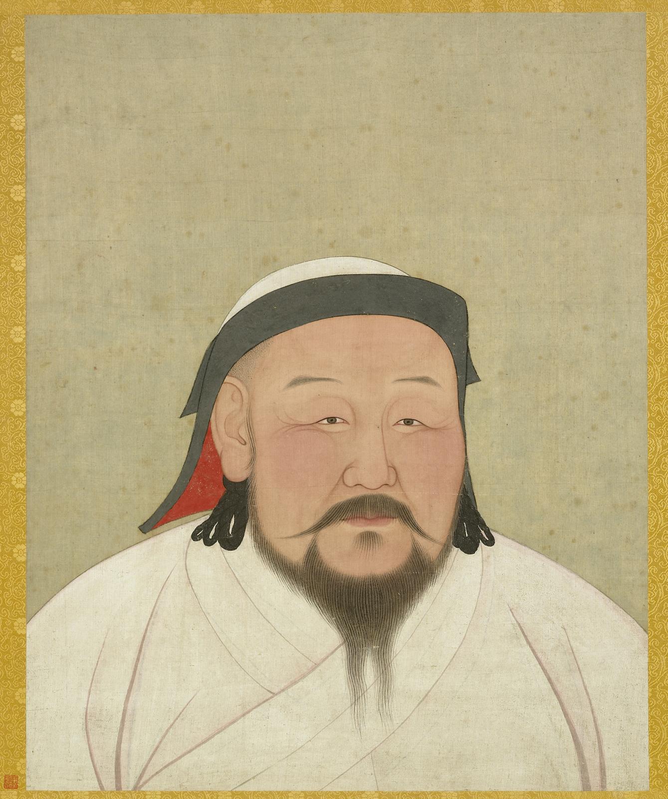 Khubilai khan.