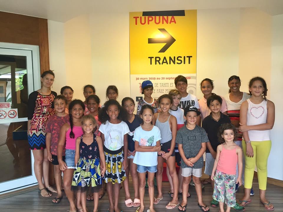 TUPUNA ➔ TRANSIT, des visites pour le jeune public