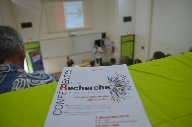 La première édition des Conférences de la recherche avait eu lieu en décembre 2018. L'événement a vocation a être annuel