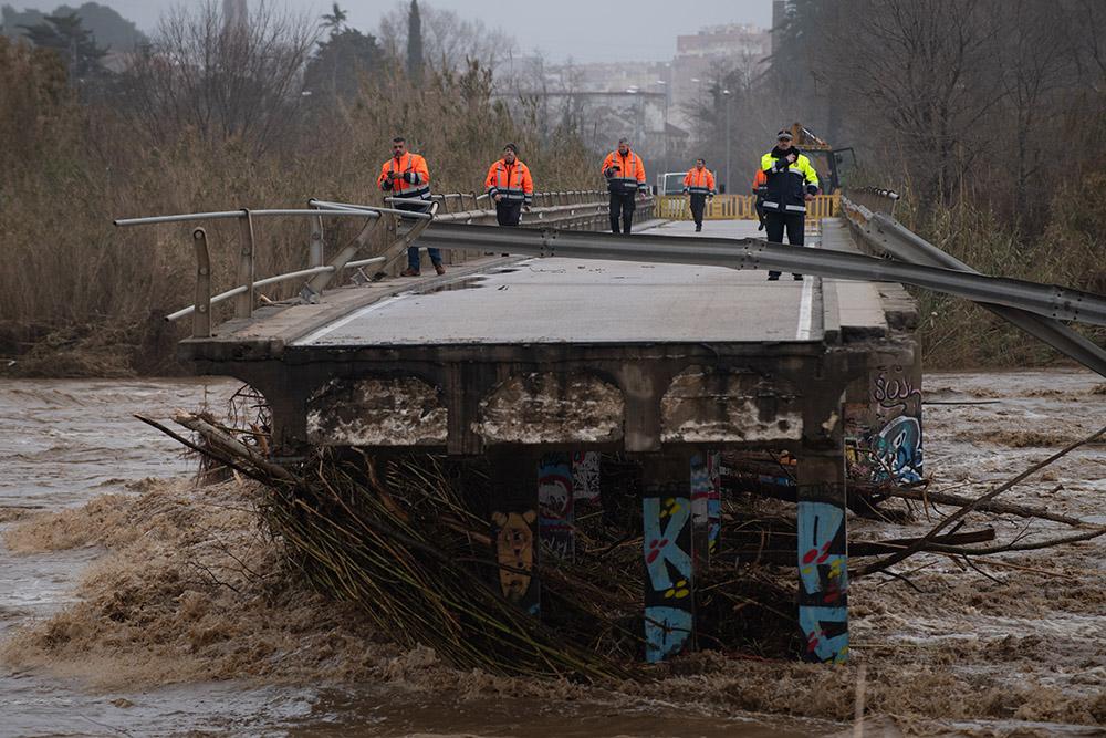 La tempête Gloria fait un quatrième mort en Espagne, quatre disparus