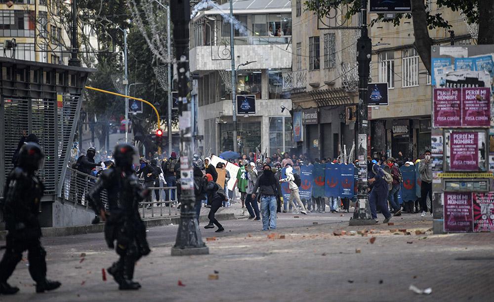 Colombie: reprise des manifestations, affrontements avec la police