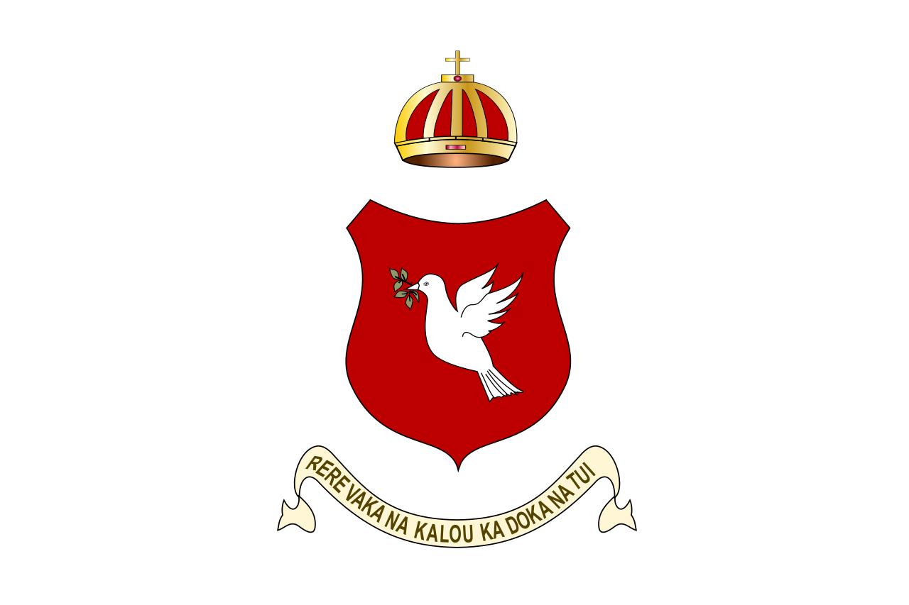 Le drapeau des îles Fidji le temps du court règne de Cakobau (1871-1874)