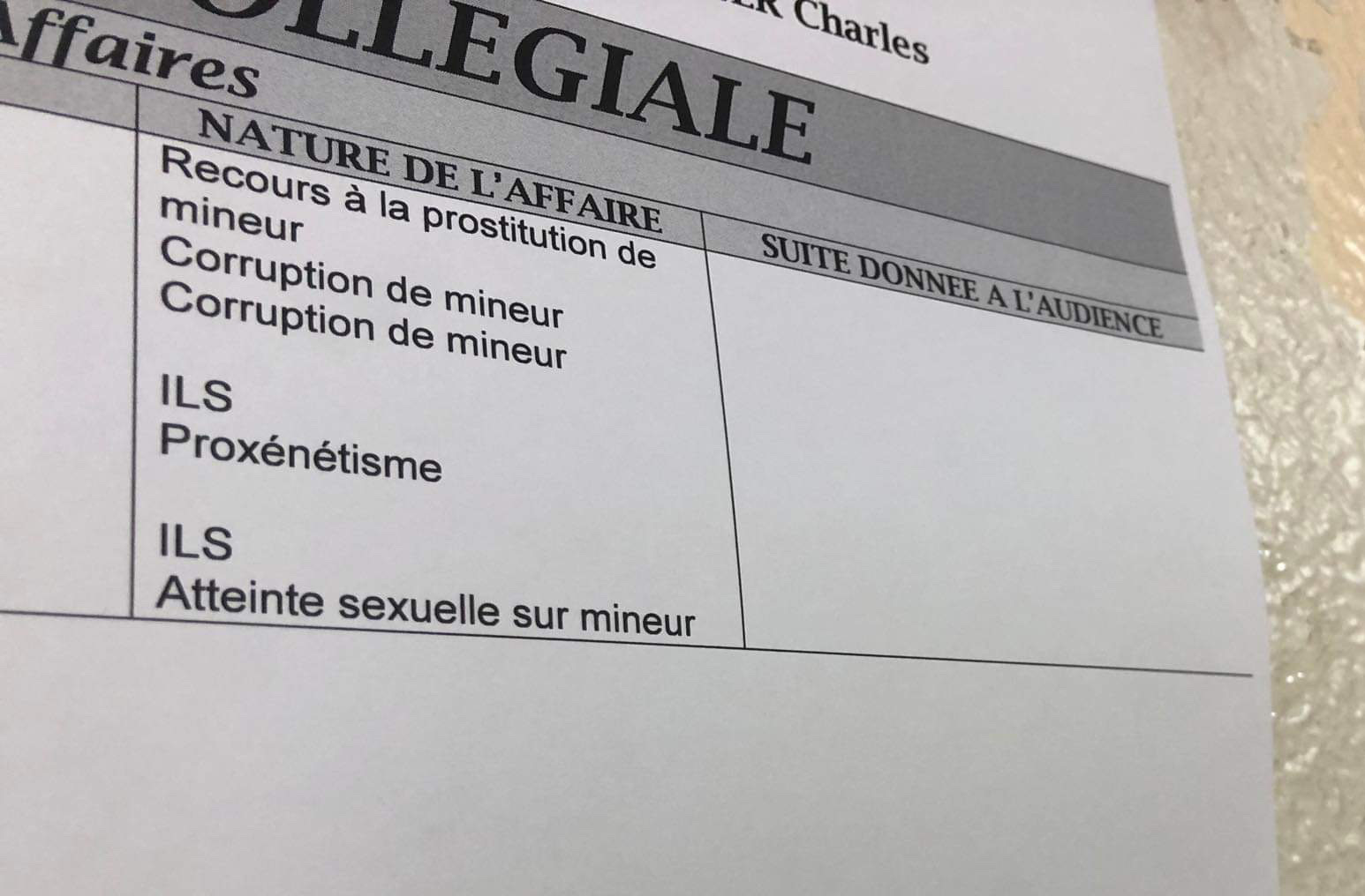 Mandats de dépôts demandés contre Boiron, Barbion et Ramel en appel