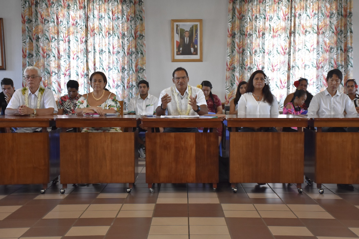 Tauhiti Nena candidat à Papeete
