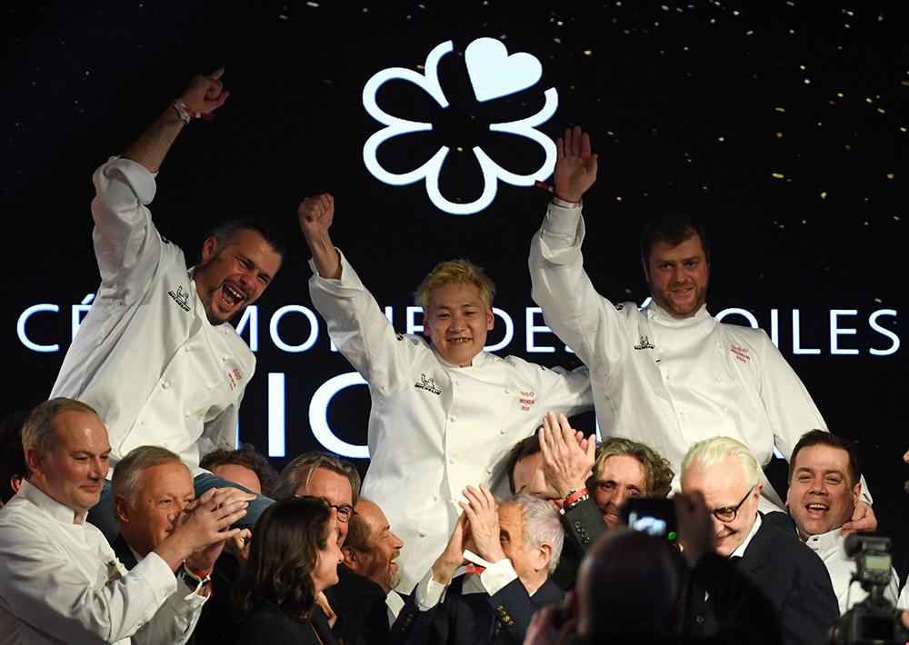 Michelin sacre pour la première fois un Japonais en France, Kei Kobayashi