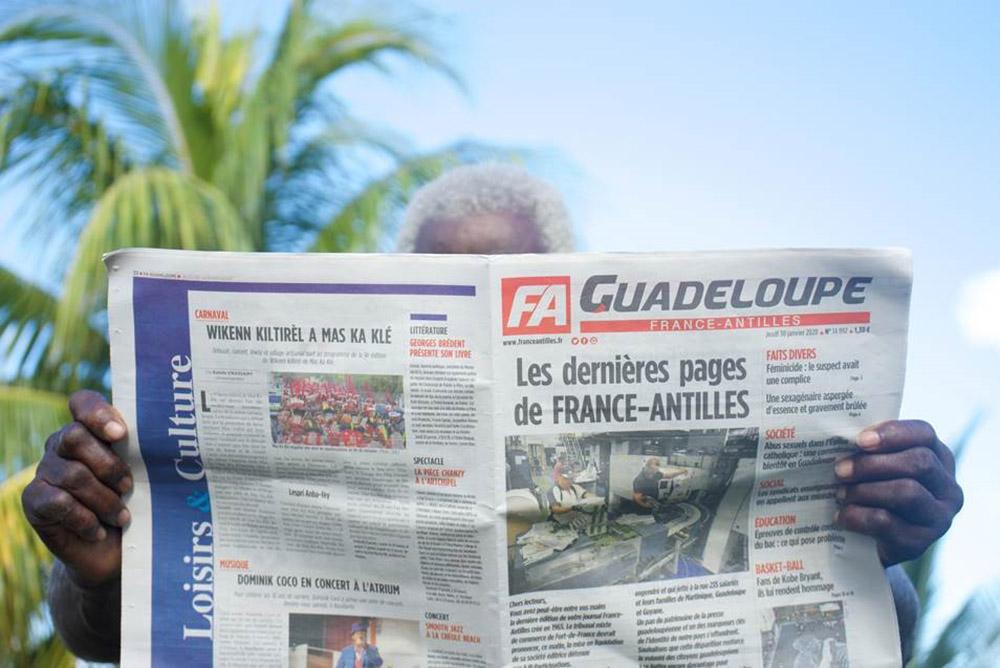 France-Antilles, seul quotidien des Antilles et de Guyane, en liquidation judiciaire