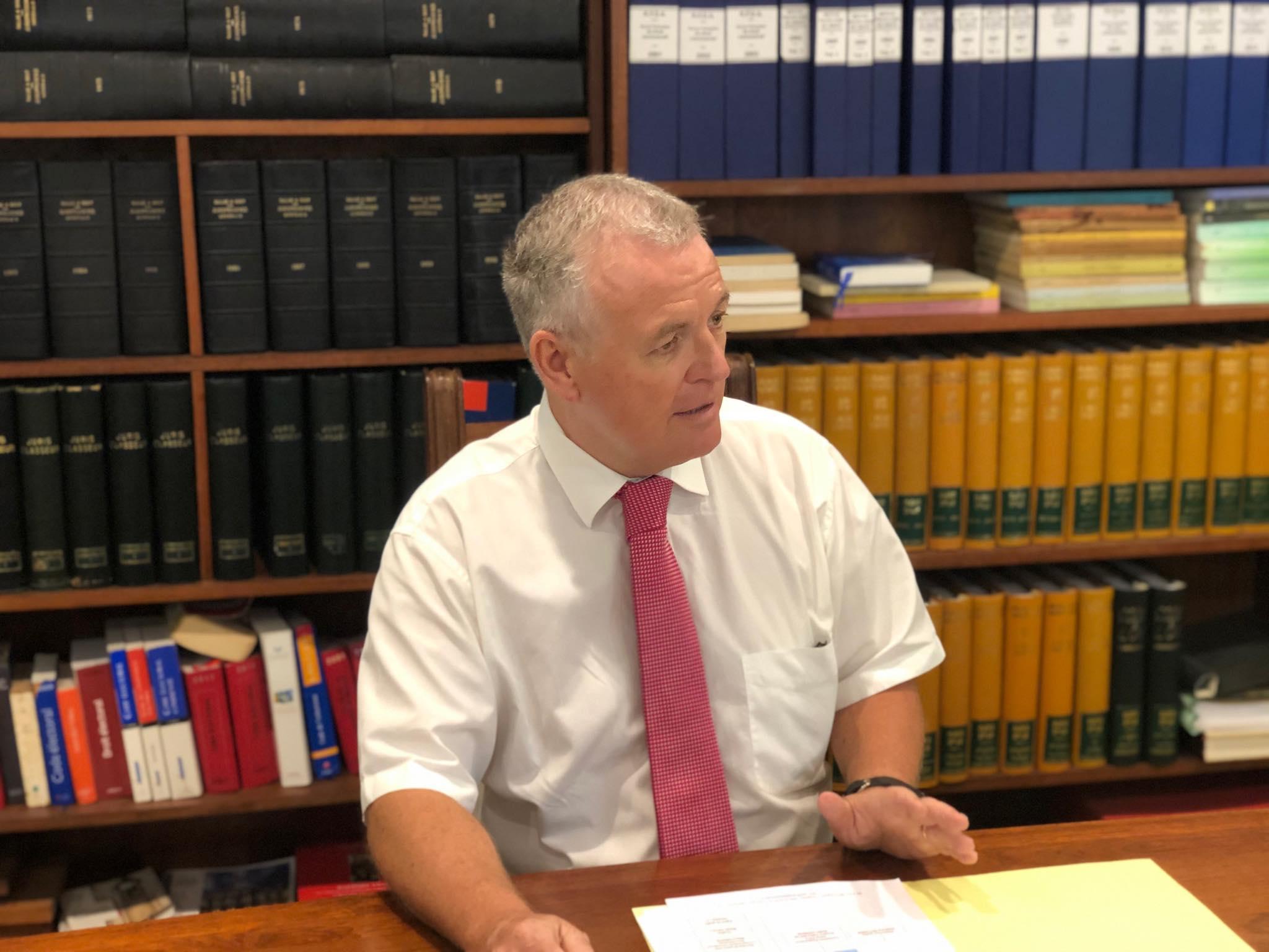 Jean-Yves Tallec, le président du tribunal administratif de la Polynésie française, quittera ses fonctions en août.