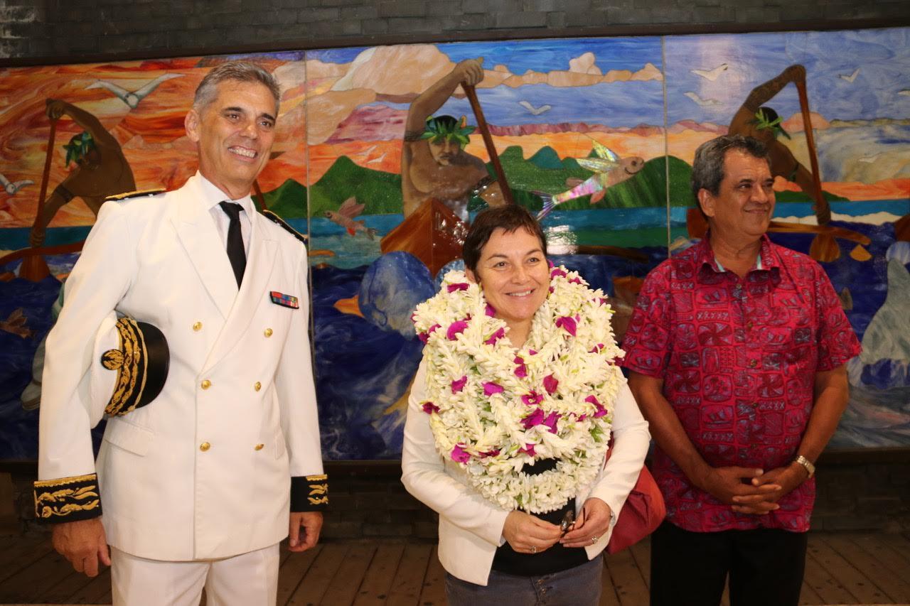 Annick Girardin pour une semaine en Polynésie
