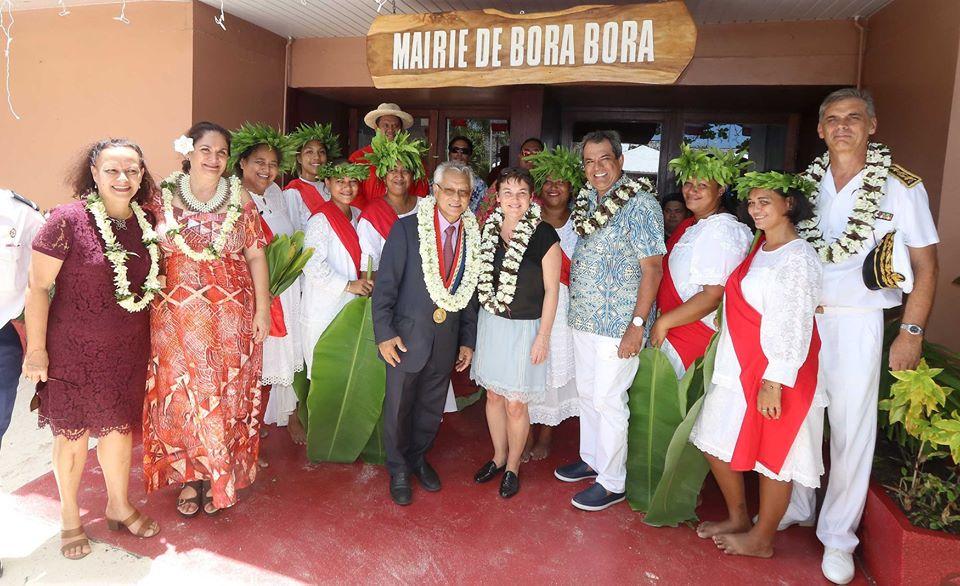 Bora Bora, sur la voie de la Trajectoire outre-mer 5.0
