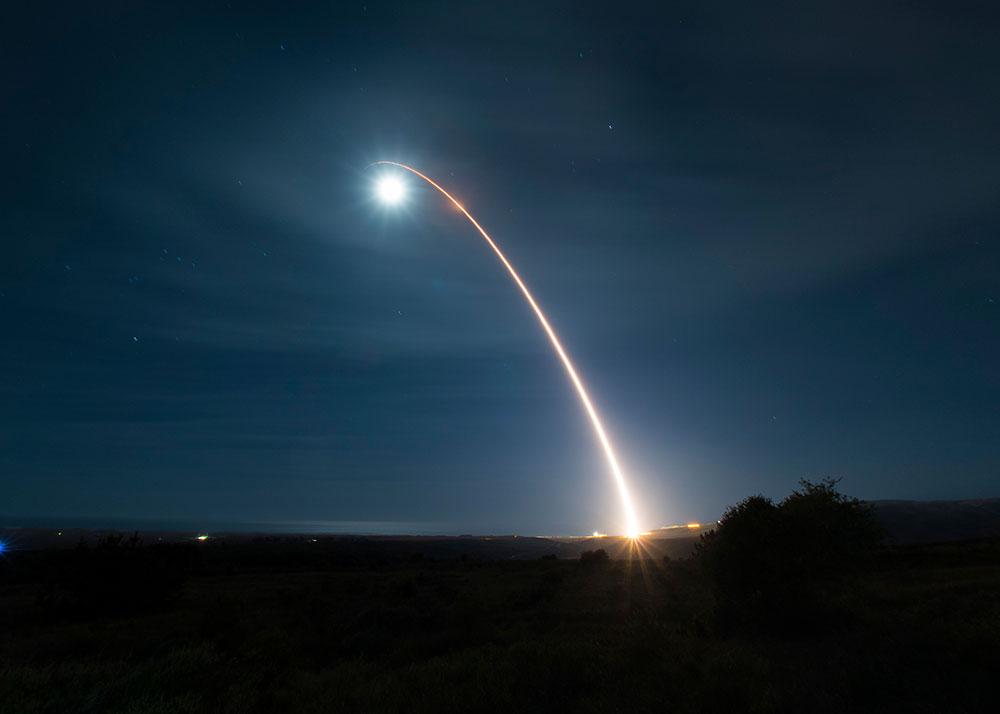 Le Pentagone a testé avec succès un missile intercontinental