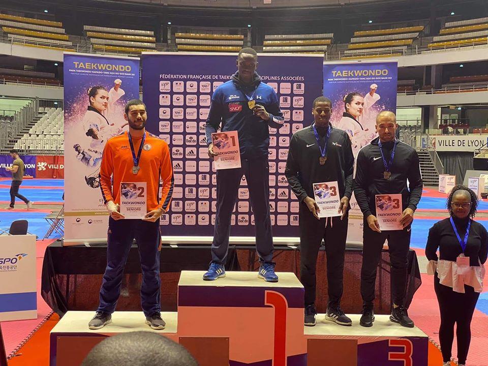 L'année dernière Waldeck Defaix s'était classé troisième des championnats de France élite.