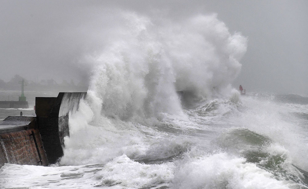Tempête Ciara: transports perturbés, coupures d'électricité, 11 blessés légers