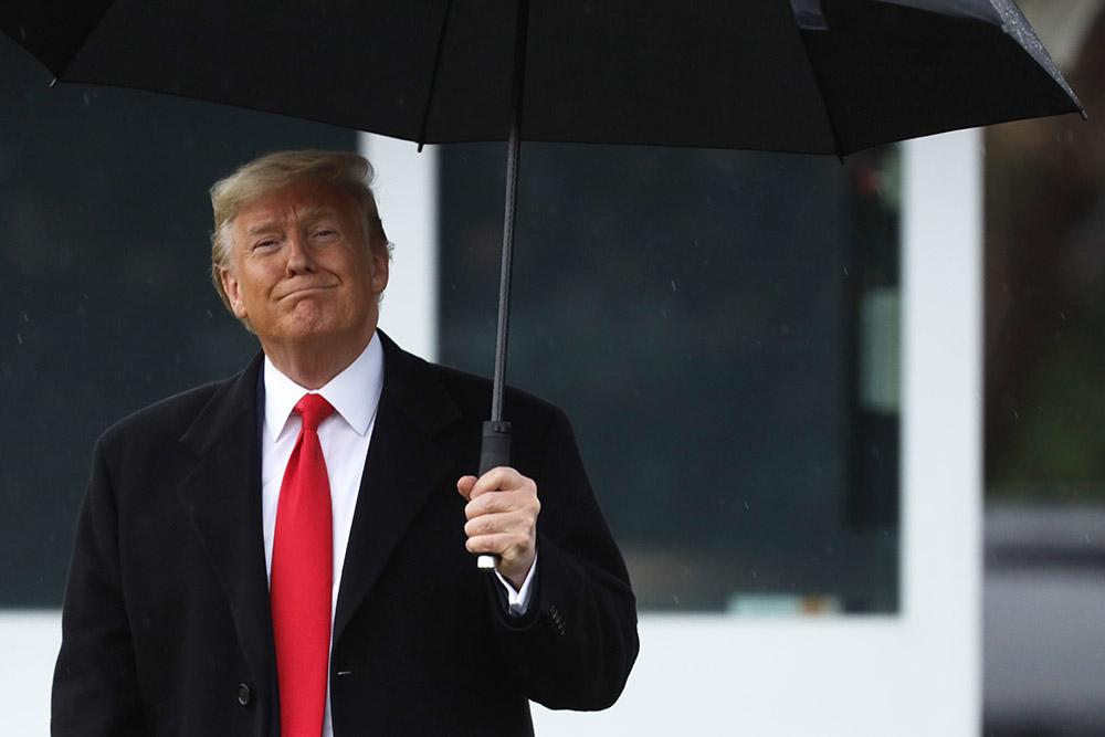 Trump présente son projet de budget 2021, aux airs de programme électoral