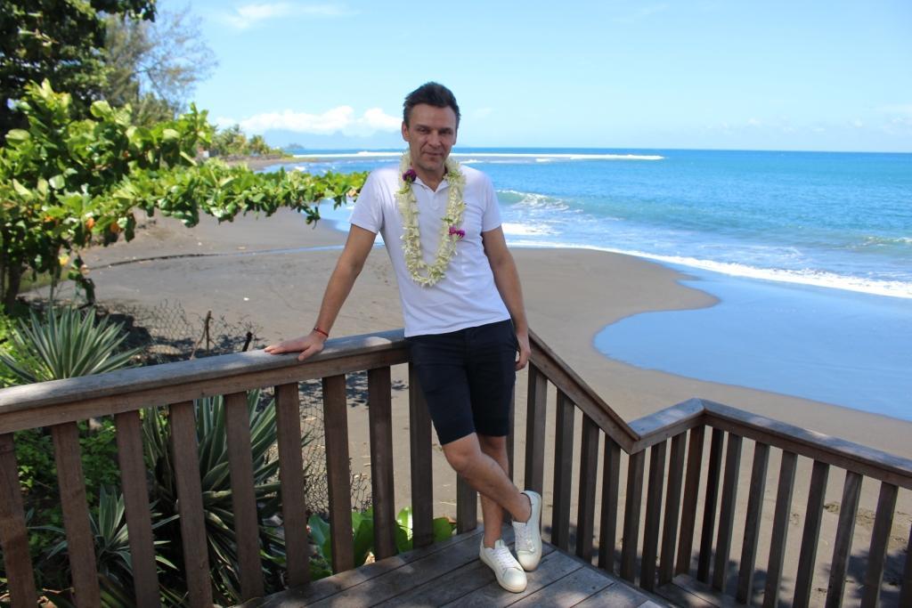 Jeanfi en escale à Tahiti