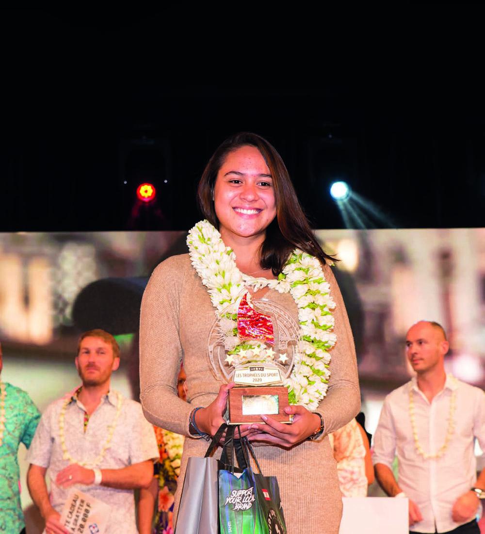 Trophées du Sport : Poerani Bertrand, plébiscitée par le public