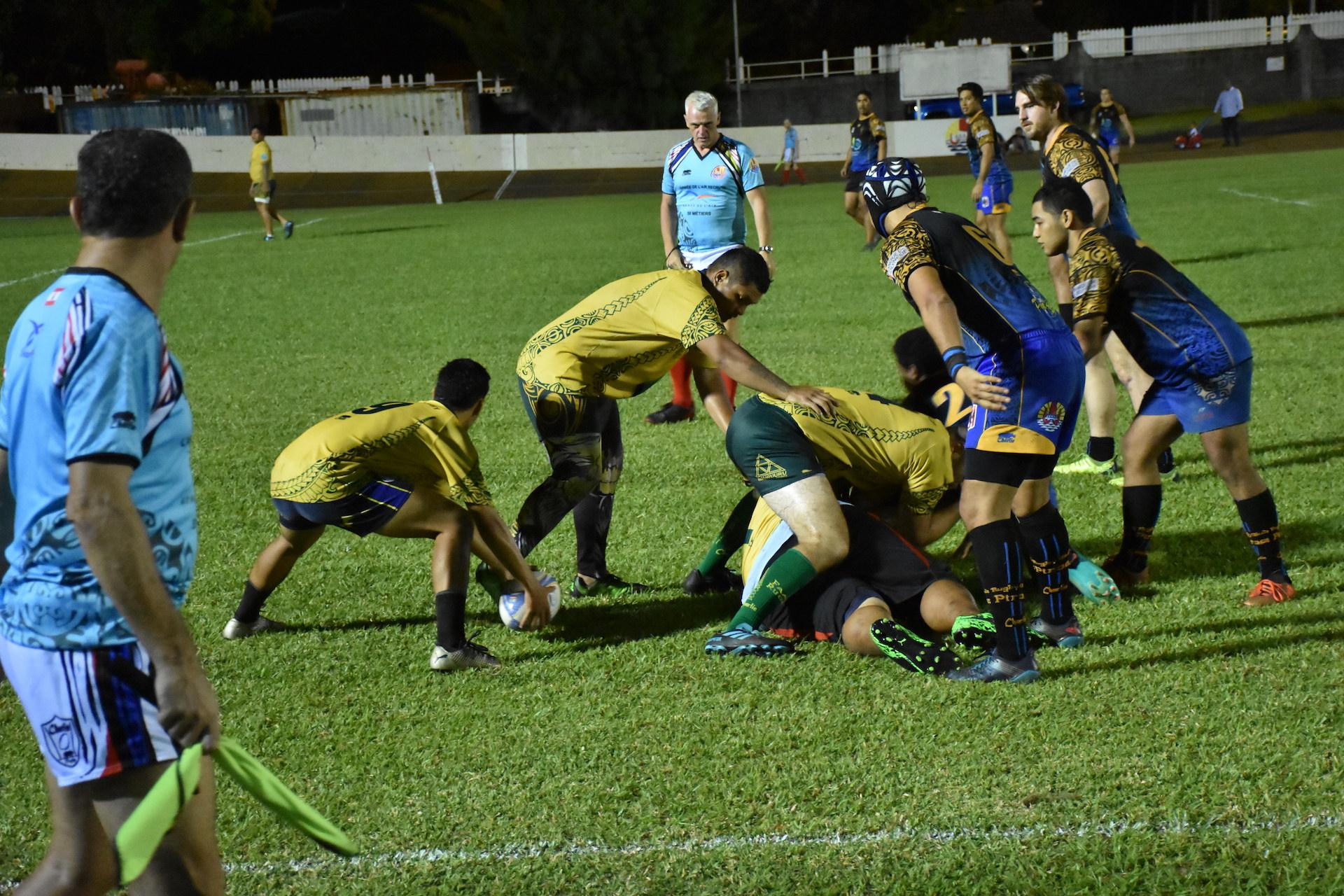 En finale, les Orange et Noir vont dérouler face au Faa'a Rugby en s'imposant dans les plus grandes largeurs avec pas moins de sept essais inscrits.