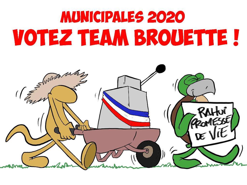 """""""Votez environnement"""", par Munoz"""