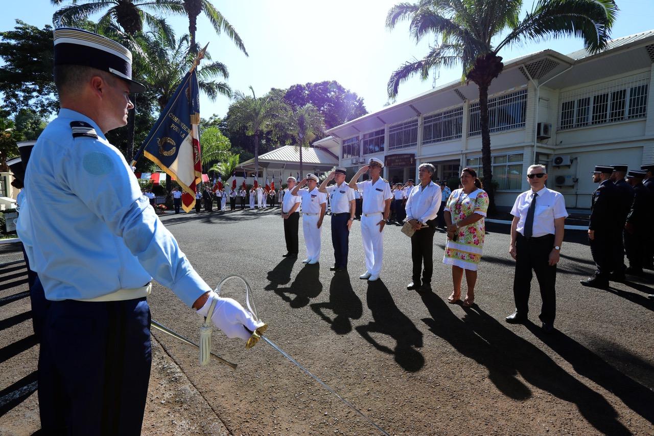Hommage national aux gendarmes décédés en 2019