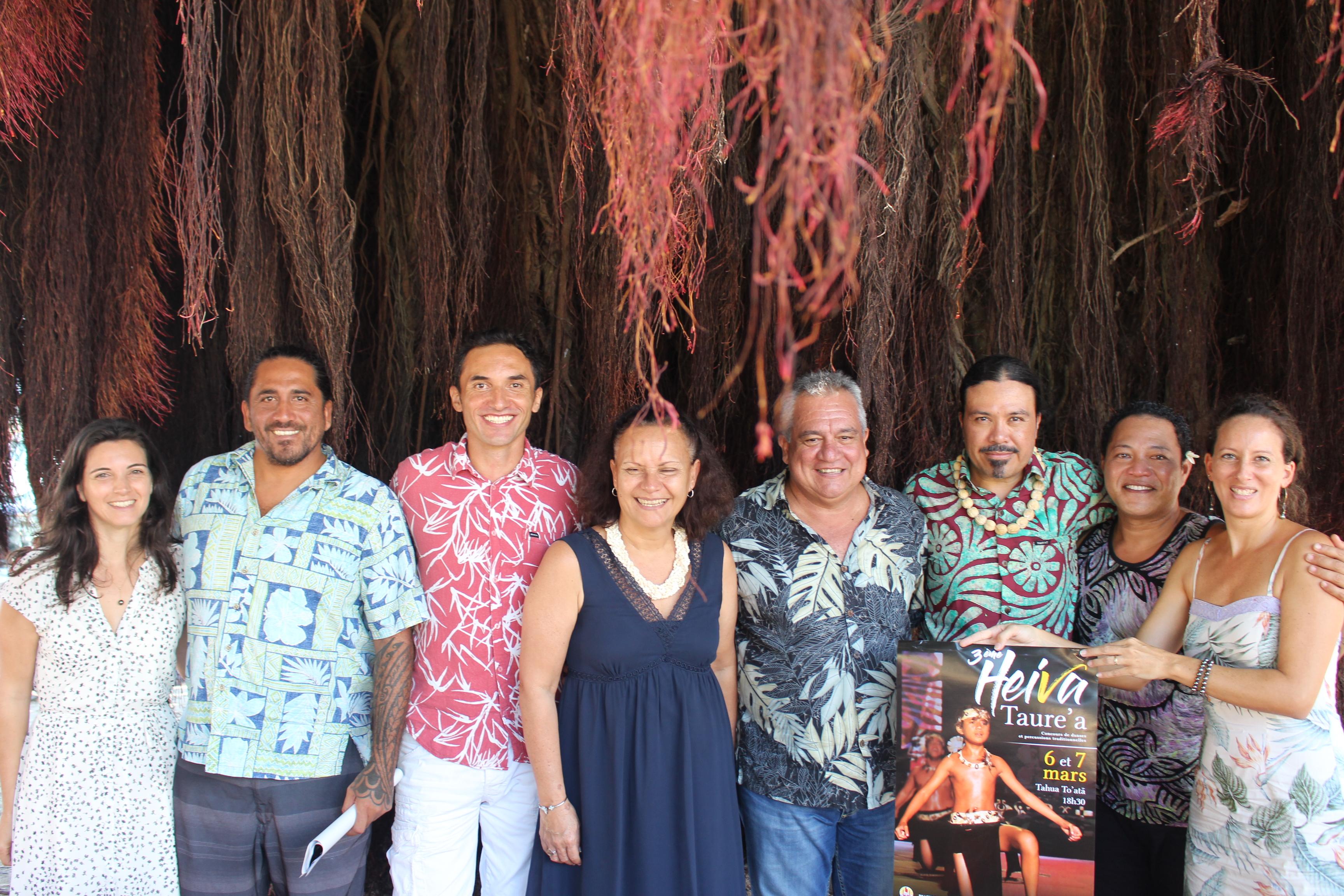 Page enfant : Heiva Taure'a, les collégiens à To'atā