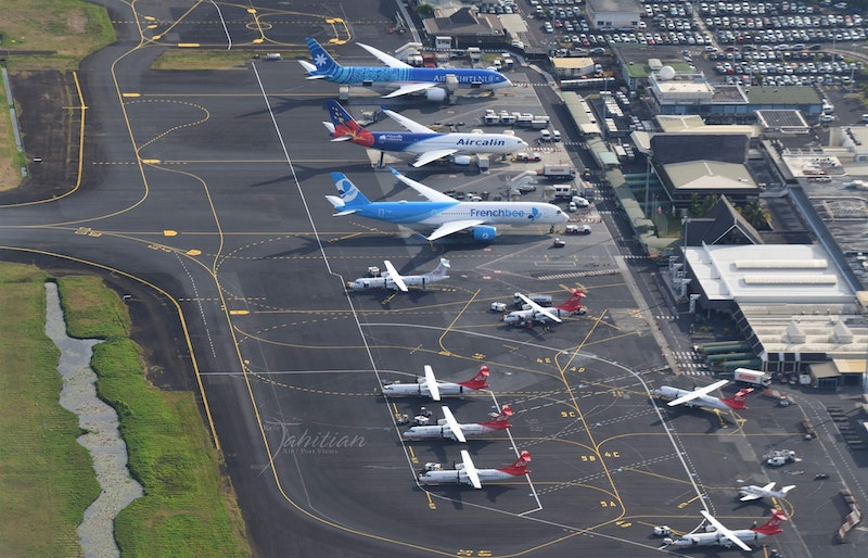 (Photo : Rare Tahitian Air/Port Views)