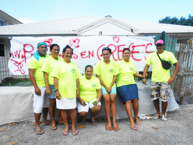 Moorea-Maiao crée 31 postes pour intégrer les ex-employés de la Fédération Ta'u Tama Here et se prépare à leur verser près de 190 millions de Fcfp d'indemnités pour les salaires non-perçus depuis août 2017. (Photo : archive de juillet 2017).