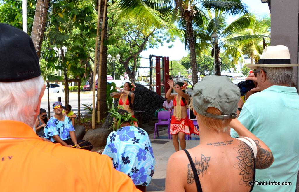 La ville était animées par des spectacles et démonstrations d'artisanat toute la semaine