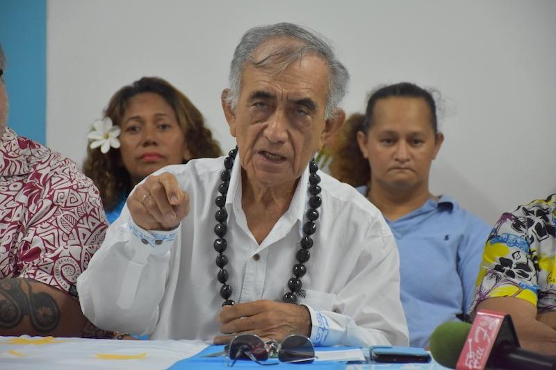Oscar Temaru remet les pendules à l'heure à Papeete