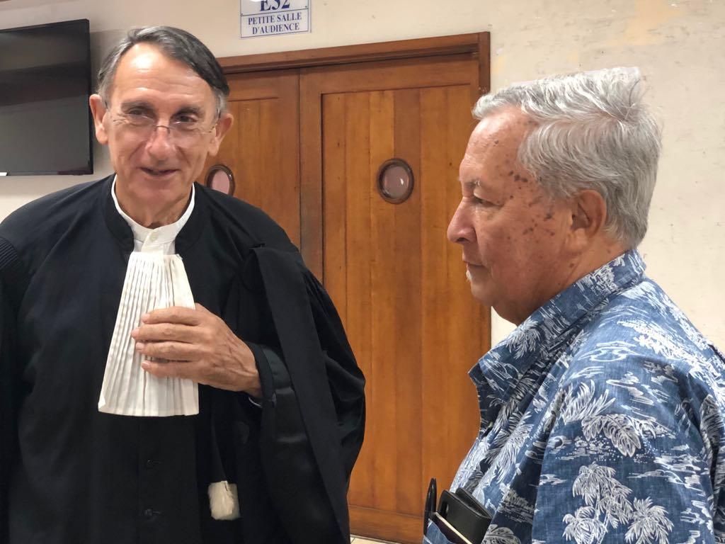 Projet de Hao : Coco Taputuarai condamné pour faux